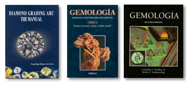 Libros de Diamante y de Gemologia