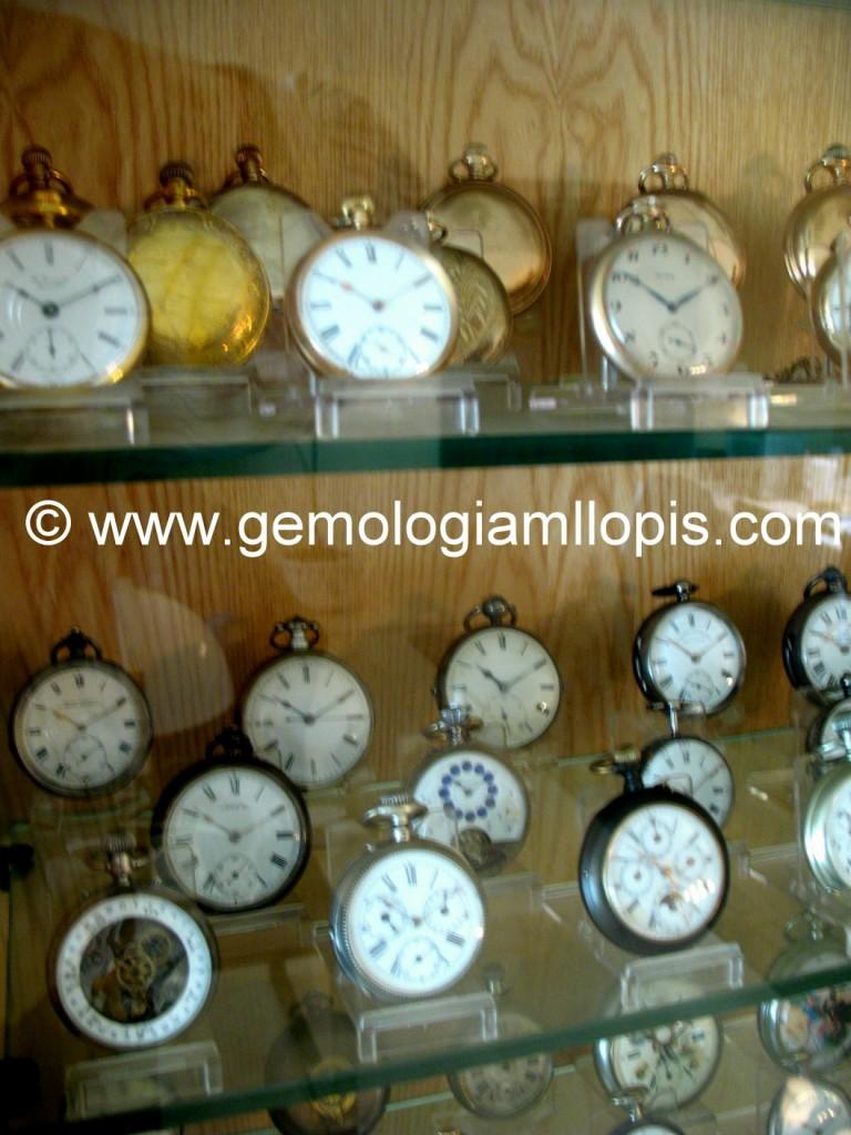 """Detalle de la colección, en la que se aprecian relojes de """"gran complicación"""""""