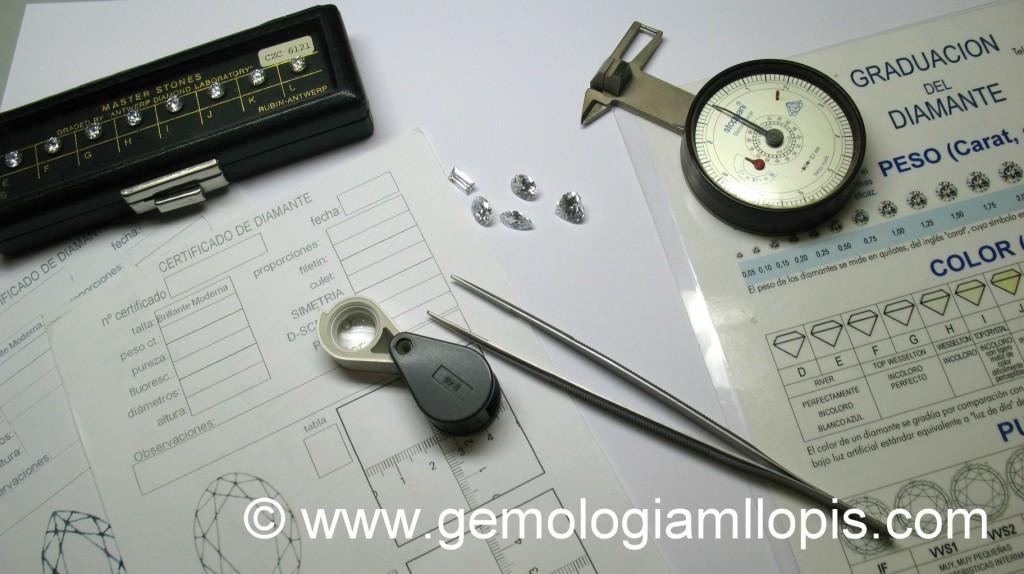 Certificando un diamante