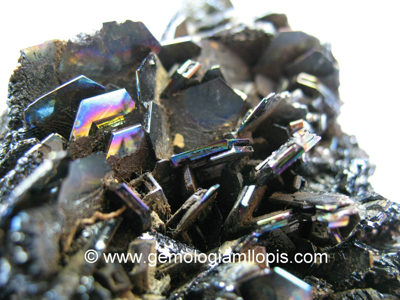 Cristales hexagonales de carburo de silicio