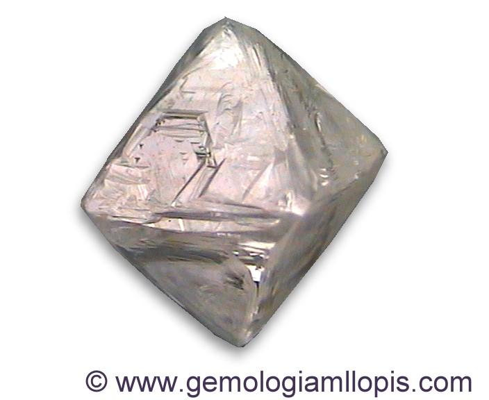 octaedro de diamante