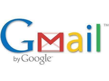 Logotipo de Google Mail un servidor mundial de correos electrónicos. Es gratis abrirse un correo.