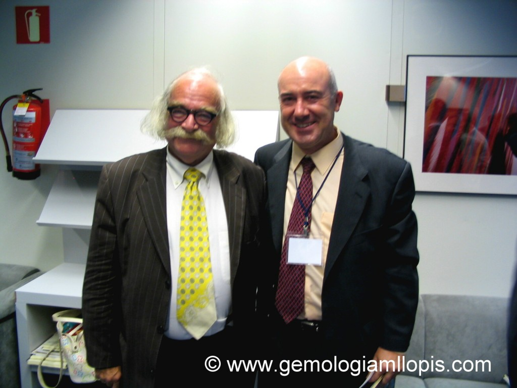 Gabi Tolkowsky y Manuel Llopis en Prodiam 2005