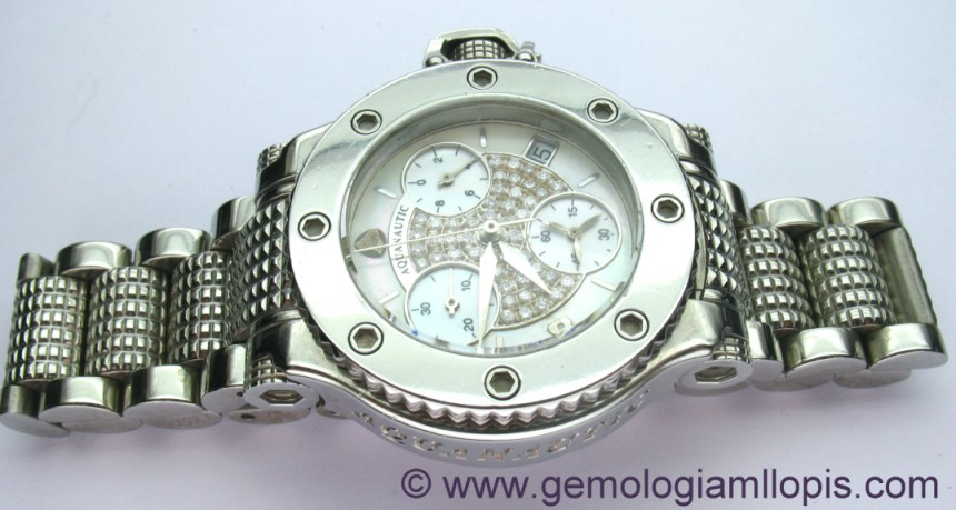 Reloj aquanautic restaurado