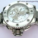Restaurado un reloj Aquanautic con esfera de diamantes