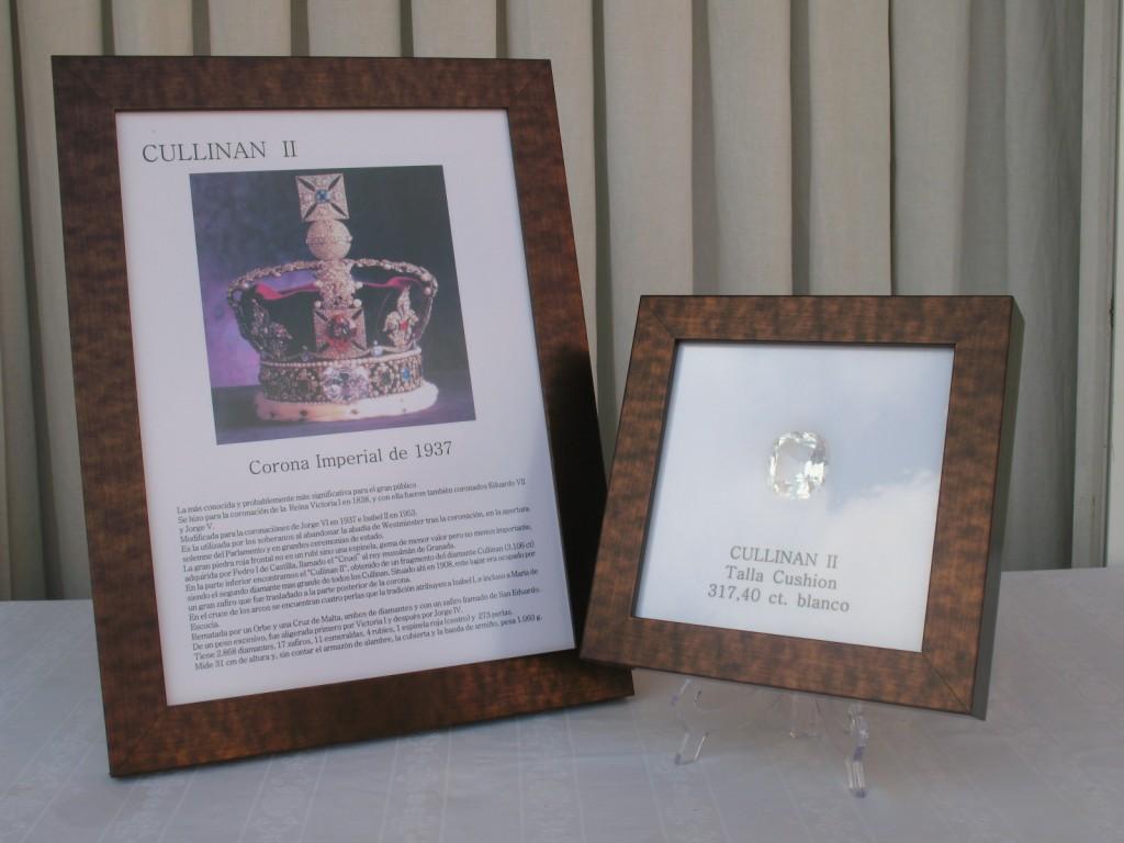 Diamante Cullinan II de talla cushion blanco y de 317,40 carats