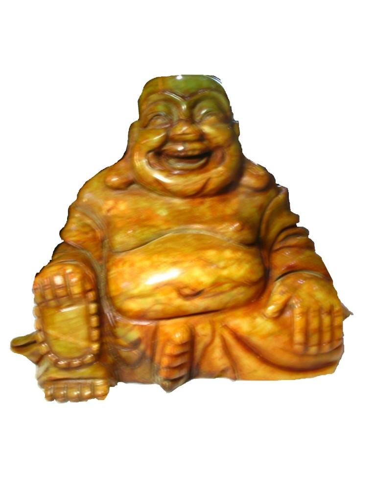 Figura tallada de buda en bowenita