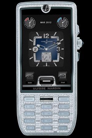 Teléfono Reloj Ulysse Nardin con diamantes