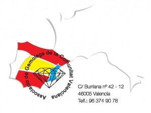Logo Asociación de Gemólogos de la Comunidad Valenciana