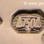 La importancia de un punzón de marca o de joyero en una joya
