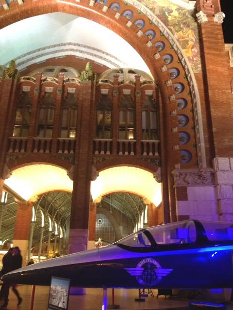 Breitling de Rafael Torres en el Mercado de Colón