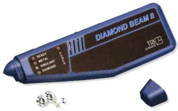 Téster Diamond Beam de Tri-electronics, preparado solo para diamante.