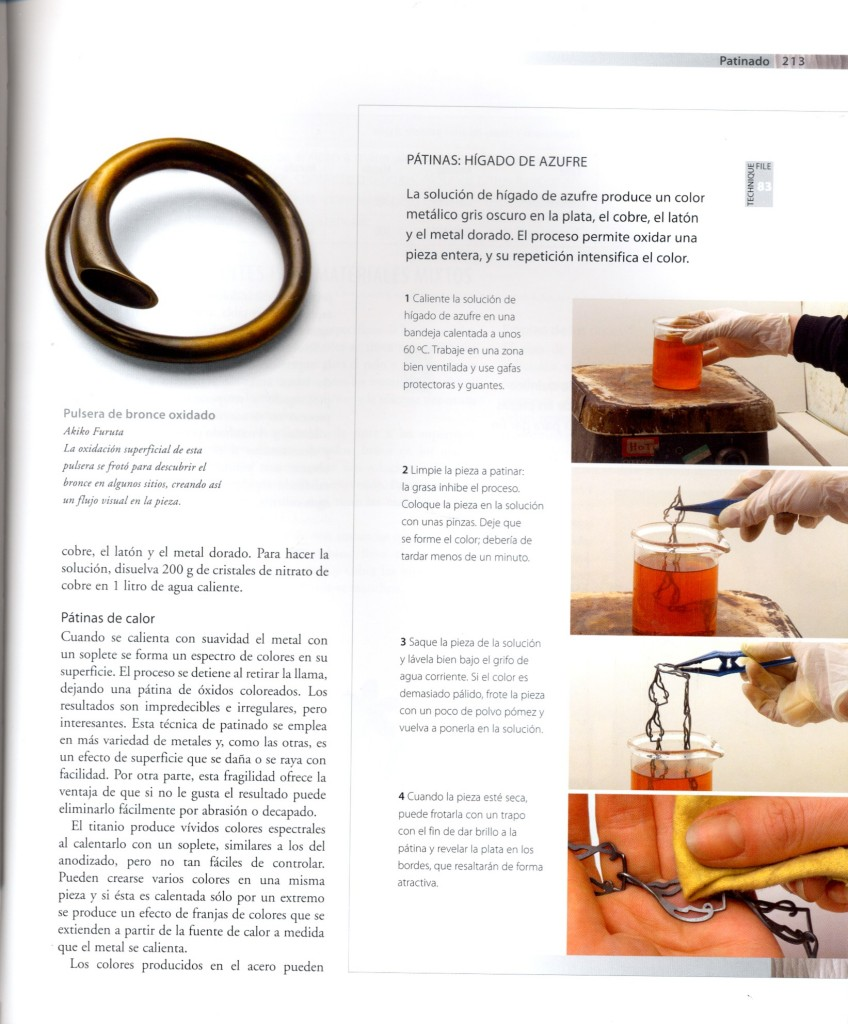 Guía completa del taller de joyería.