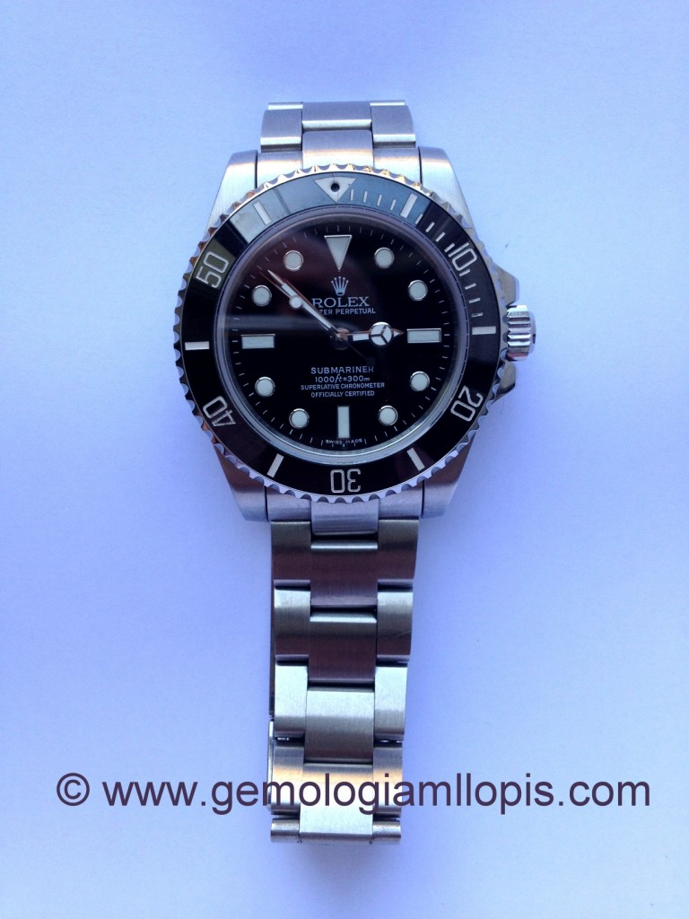 Rolex submariner falso