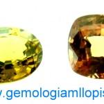 Granates Grosularia-Andradita de Mali con cambio de color