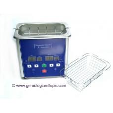 Cubeta de limpieza de joyas y piedras por ultrasonidos