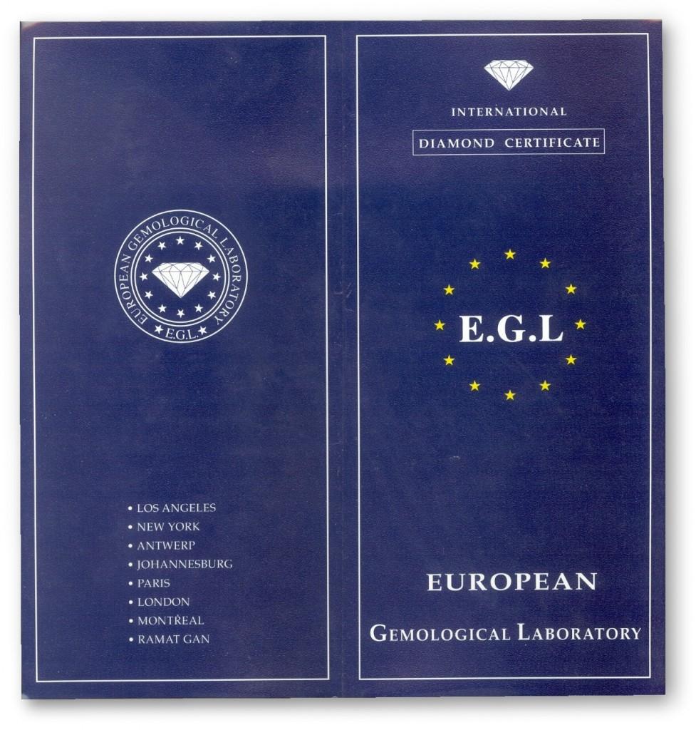 Portada del certificado EGL
