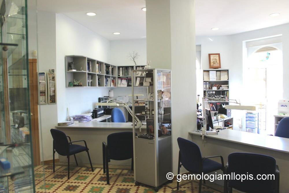 Laboratorio Gemológico MLLOPIS