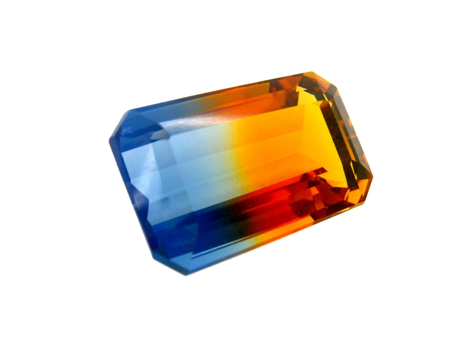 Cuarzo bicolor sintetico