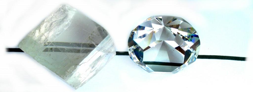 Doble imagen en un cristal no cúbico