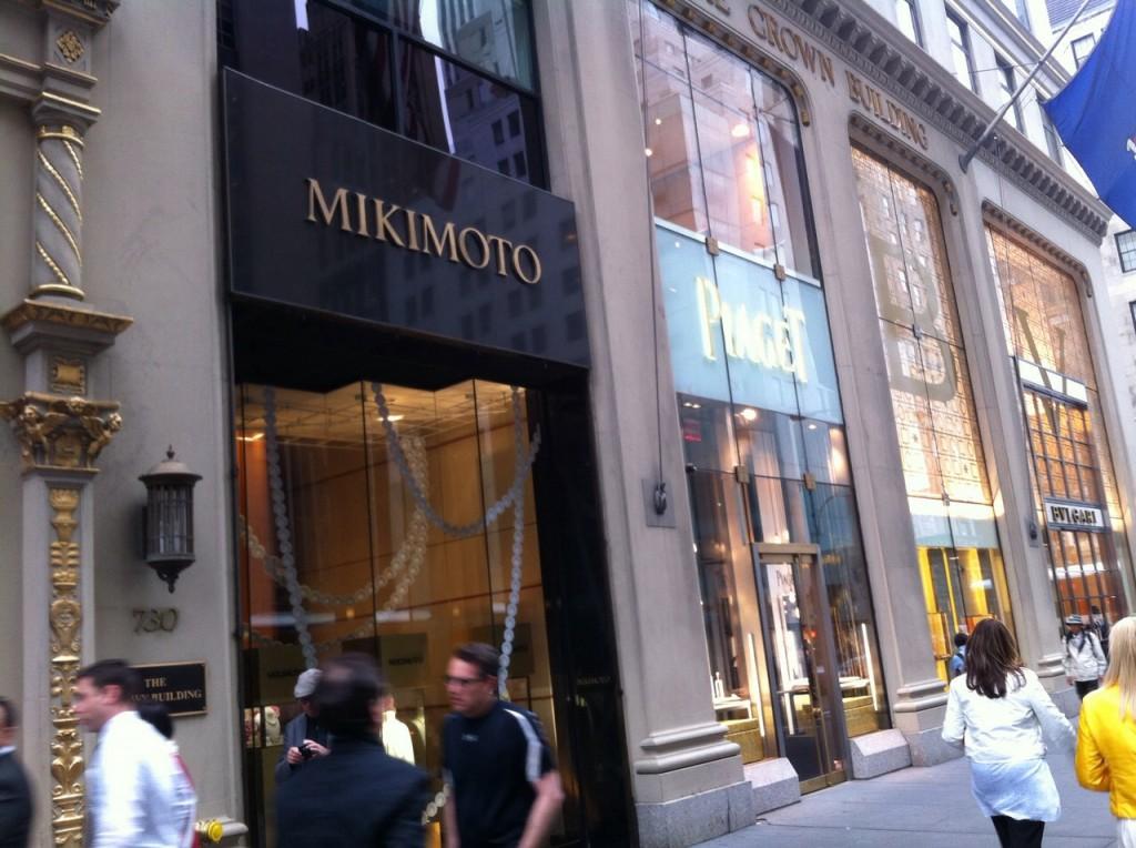 Mikimoto en la Quinta Avenida