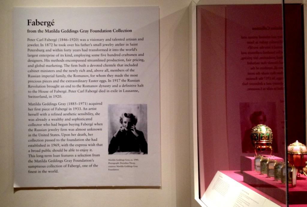 Exposición en el Metropolitan de Nueva York de joyas de Fabergé