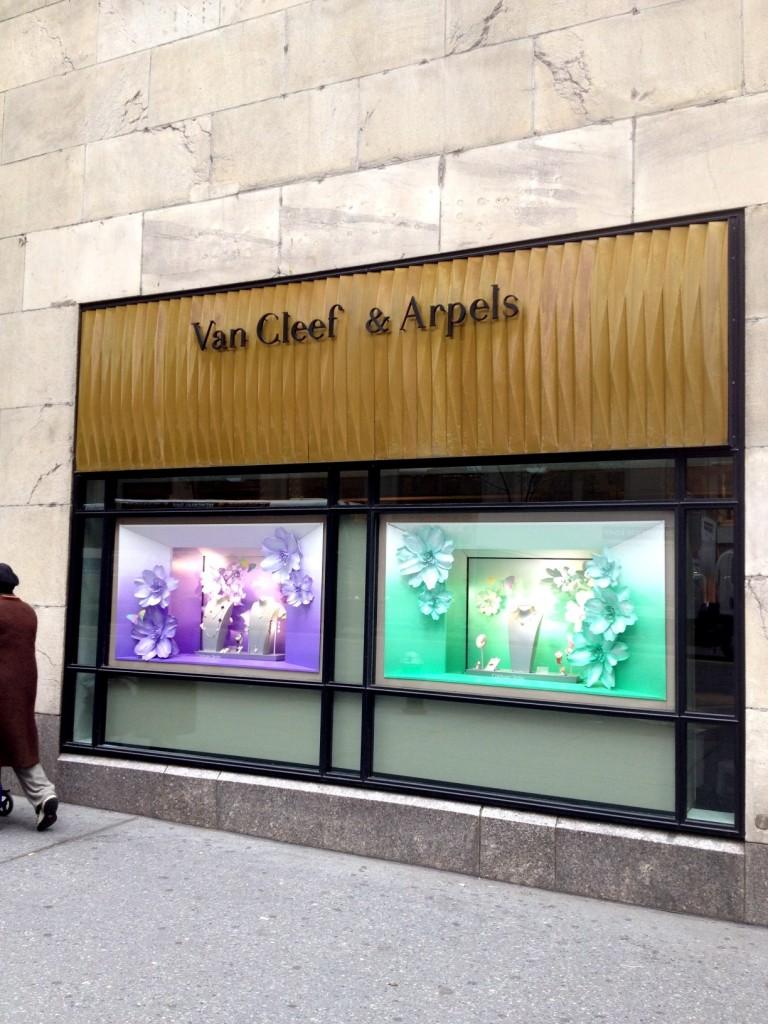Joyería Van Cleef & Arpels en la Quinta Avenida de Nueva York