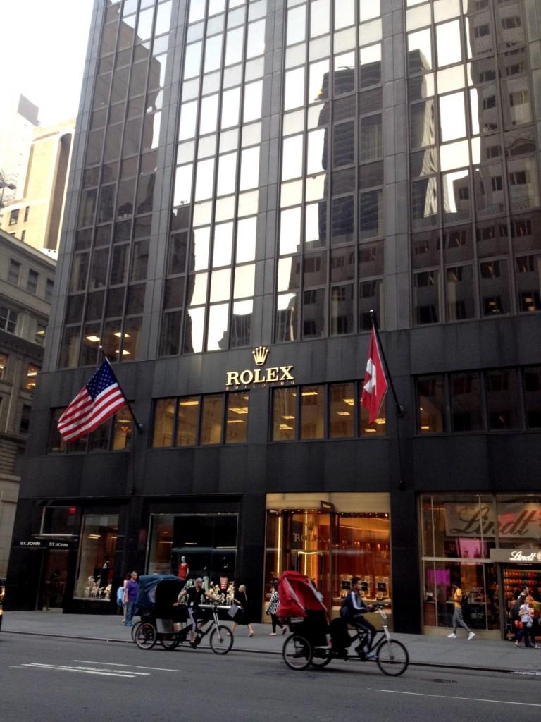ROLEX en la Quinta Avenida de Nueva York