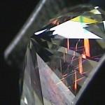 Diamantes tratados con relleno de vidrio