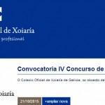 IV Concurso de Diseño San Eloy, Colexio Oficial de Xoiaría de Galicia