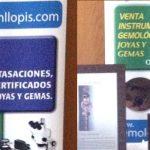 Gemólogos de MLLOPIS en el Congreso de Gemología del Mediterráneo