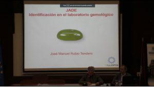 El vicepresidente del IGE, don José María Reguera-Sevil Pérez, presentando a nuestro compañero José Manuel Rubio