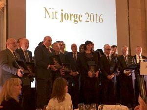 Galardonados de los Premios JORGC 2016
