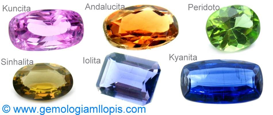 nombres de piedras