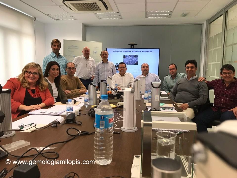 asistentes diamante sintetico Malaga 2018 3