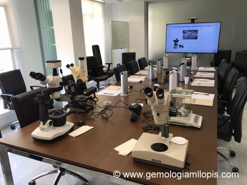 montaje diamante sintetico Malaga 2018