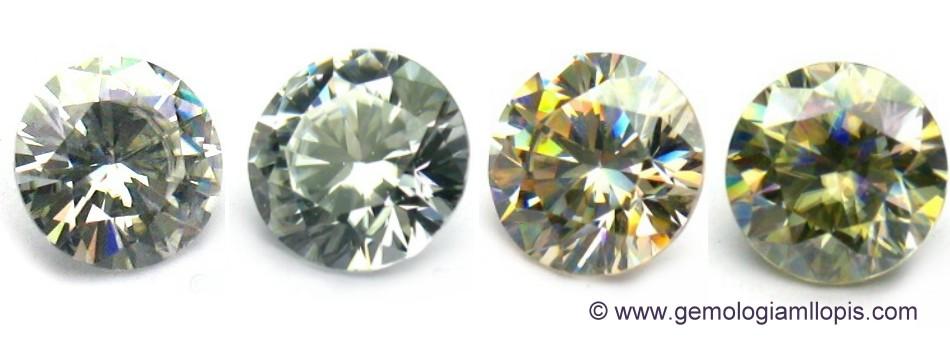 imitaciones de diamante