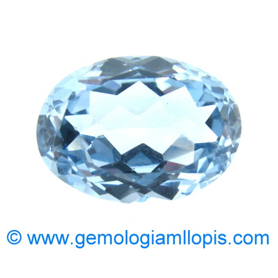 Blue Synthetic Spinel
