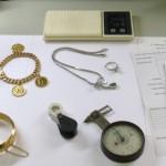 Procedimiento de valorar joyas robadas, joyas que ya no están