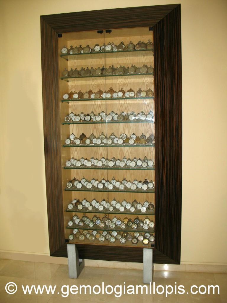 Impresionante y exquisita colección privada de 250 relojes de bolsillo.