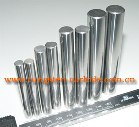 Barras de carburo de tungsteno utilizado en industria por su dureza y resistencia al calor.