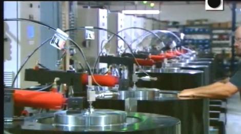 Bateria de máquinas para fabricar diamante sintético HPHT