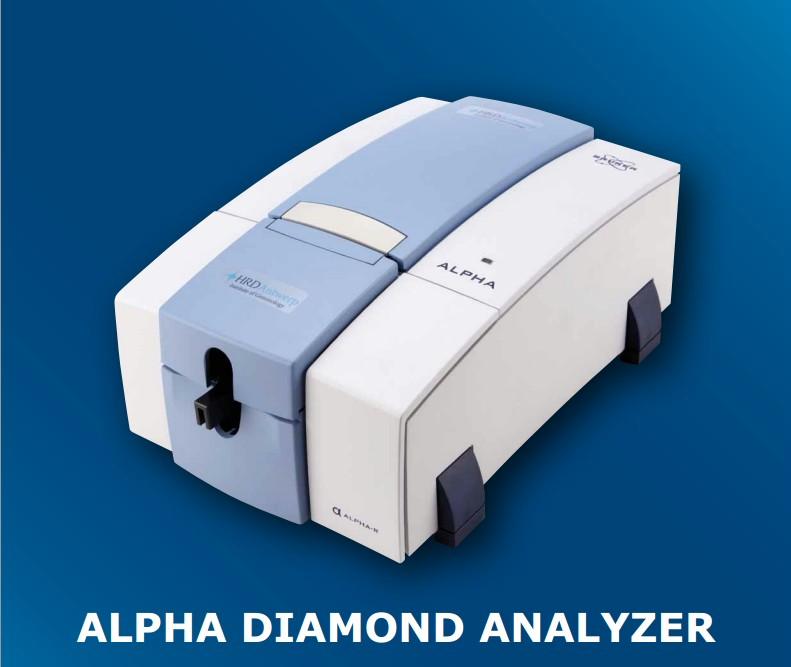 Alpha Diamond Analyzer