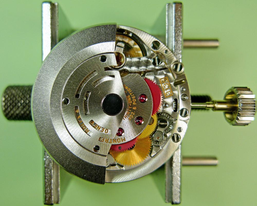 maquina 3135 de rolex