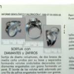 Informes gemológicos de joyas, hechos en España, en MLLOPIS