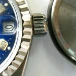 Imitación de Rolex fácil de detectar