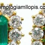Detectado un trío de esmeraldas con relleno de resina epoxi