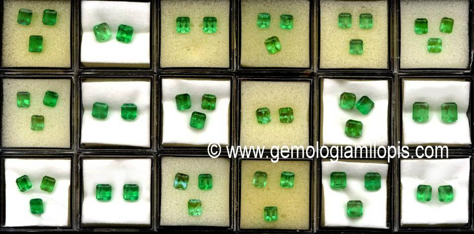 parejas y trios de esmeraldas