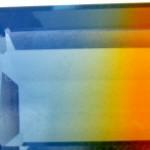 Cuarzo bicolor sintético