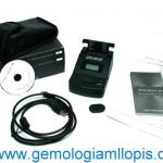 Quiero comprar un instrumento gemológico que identifique cualquier gema